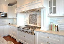 Kitchen Backsplash Photos White Cabinets Kitchen Brown Subway Tile Backsplash White Cabinet Kitchen