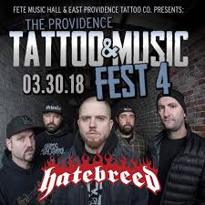 the providence tattoo u0026 music festival 4 featuring hatebreed and