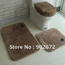 bath mats set 100 acrylic bathroom rug toilet lid set bath mats 4 bath