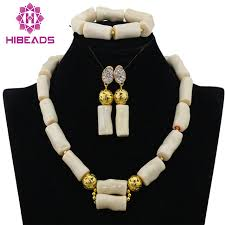 aliexpress bead necklace images 2016 new genuine coral beads necklace jewelry nigerian wedding jpg