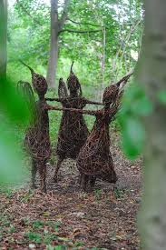 best 25 willow figures ideas on garden sculptures uk