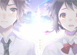 film anime couple terbaik kimi no na wa your name zerochan anime image board