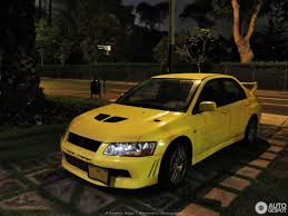 mitsubishi yellow mitsubishi lancer evolution vii 27 july 2017 autogespot