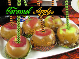 caramel apples for halloween frugal upstate
