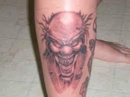 scary clown tattoos best tattoos trending now website evil