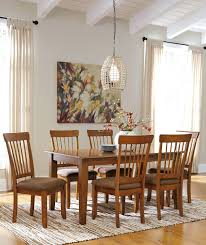 ashley furniture berringer 7 piece 36x60 table chair set del sol