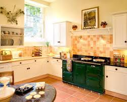 Orange And White Kitchen Ideas Terracotta Walls Kitchen Ideas Photos Houzz