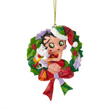 disney figurines by romero britto betty boop wreath ornament