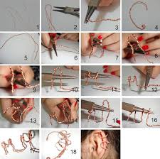 how to make ear cuffs diy tutorial diy ear cuffs diy ear cuff bead cord