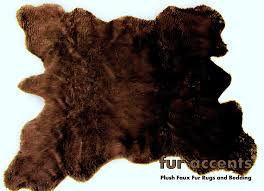 Cheap Animal Skin Rugs Ideas Faux Animal Hide Faux Mongolian Fur Rug Fake Bear Skin Rug