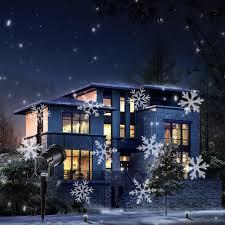 Outdoor Projector Lights 2018 Holigoo Outdoor Snowflake Projector Waterproof Snow Stage