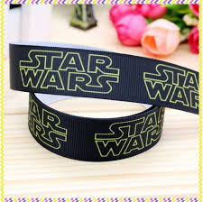 printed grosgrain ribbon new 7 8 free shipping wars printed grosgrain ribbon hair bow
