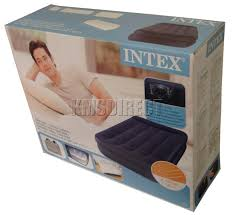 intex single air bed airbed inflatable mattress 706 ebay