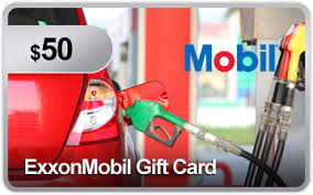 gas gift card enter to win a 50 exxon mobil gift card