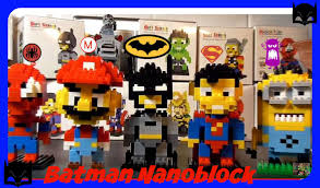 loz diamond blocks let s build batman nanoblock loz diamond blocks lego 140pcs
