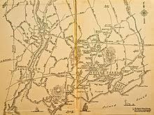 road map connecticut usa westport connecticut