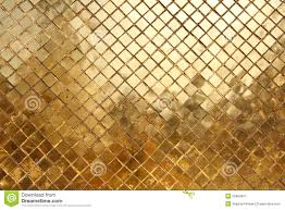 mosaic made of gold tiles background royalty free stock