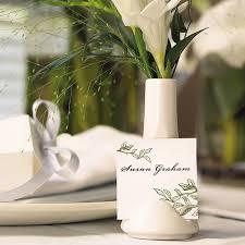 Small White Vases Bulk Small Vase Place Card Holder White The Knot Shop