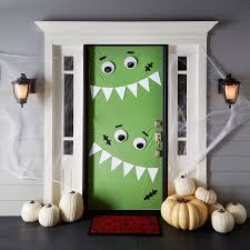home made holloween decorations backyards door decoration ideas for comstume homemade