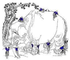 Blind Man And Elephant The Blind Men And The Elephant John Godfrey Saxe