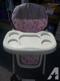 baby trend high chair pink for sale in forrester center west