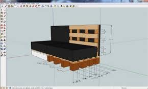 canapé d angle en palette canapé d angle palette plan canapé palettes