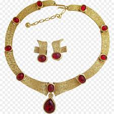 earring necklace ruby images Ruby earring necklace jewellery costume jewelry ruby png jpg
