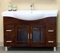 Bathroom Single Vanity by Bellaterra Home 203138 48 Inch Single Sink Vanity Wood Walnut