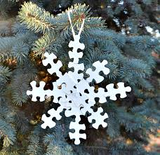 snowflake ornament about a