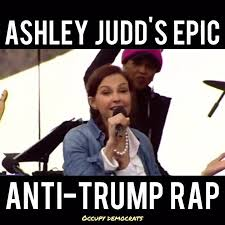 Funny Democrat Memes - must watch ashley judd just gave the occupy democrats