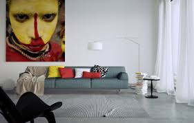 livingroom wall art living room modern living room wall art ideas with yellow red