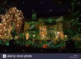 dyker heights brooklyn christmas lights 2015 december houses trees