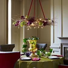 Christmas Decoration For Chandelier by Christmas Decorating Ideas Stellar Interior Design