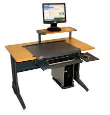 Omnirax Presto Studio Desk by Landon Desk With Hutch