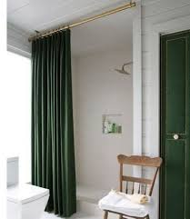 how high should a shower curtain rod be hung savae org