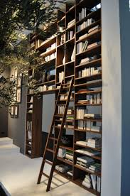6 creative wall mounted bookshelves to install on the library room