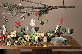 Christmas Table Decorations To Buy Ideas by Furniture U0026 Accessories Modern Design Of Buffet Table Decorating