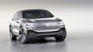 volkswagen white car volkswagen u0027s i d crozz electric concept aims for 2020 production