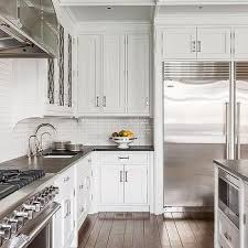 Viking Kitchen Cabinets by Viking Stove And Hood With Stainless Steel Spice Shelf