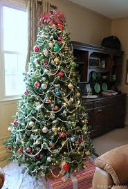 colored christmas tree lights first ever christmas home tour christmas tree green christmas and