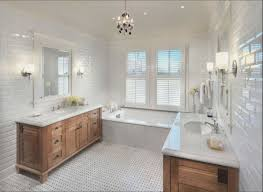 Wainscoting Bathroom Ideas by Fixer Upper Bathrooms Designer Natural Stone Subway Tile Hd