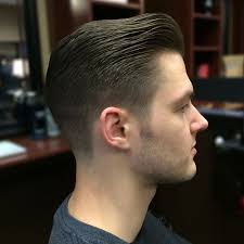 pompadour haircut mens wonderful pompadour taper within fade haircuts men classic