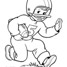 Football Coloring Page Go Team Coloring Page Football Coloring Football Coloring Page