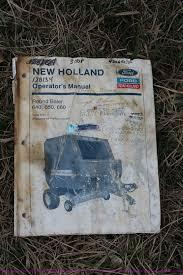 1993 new holland 650 round baler item k8992 sold april