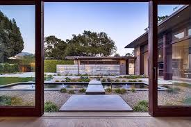 home courtyard thayer residence breezy santa barbara home sheds spotlight on a