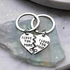 love key rings images I love you more keyring set by junk jewels jpg