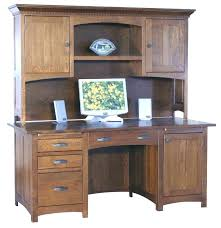 Wood Computer Armoire Style Computer Desk Solid Wood Desk Arts And