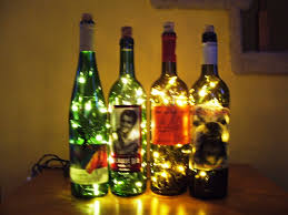 Christmas Tree Wine Bottles Wine Bottle Accent Light 15 Steps With Pictures