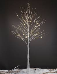 lightshare led pre lit 132 light birch tree reviews wayfair
