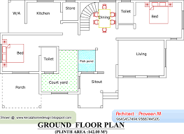 home plan and elevation 2604 sq ft home appliance